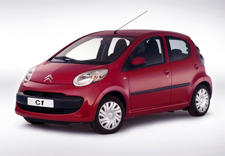 Citroen C1 3p 1.0 68cv Gasolina Manual - FlashRenting